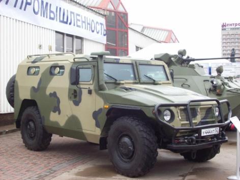 GAZ-233036 Tigr