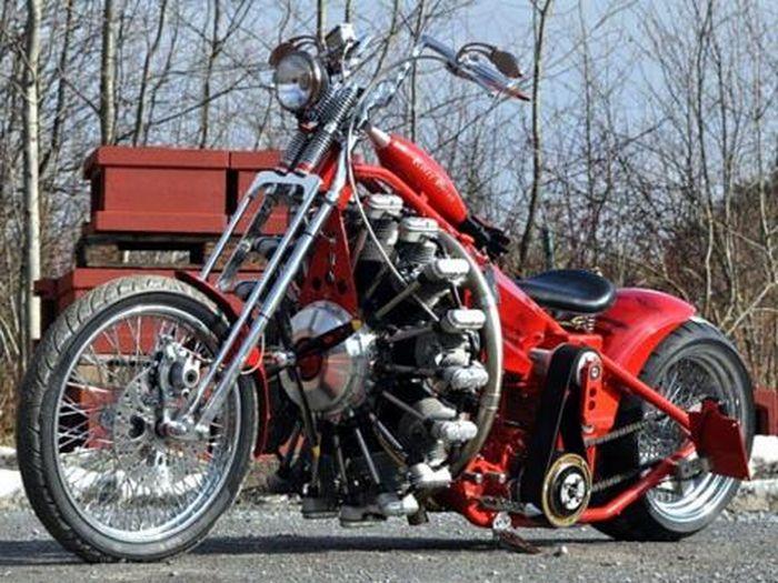 chopper czerwony baron 1 art