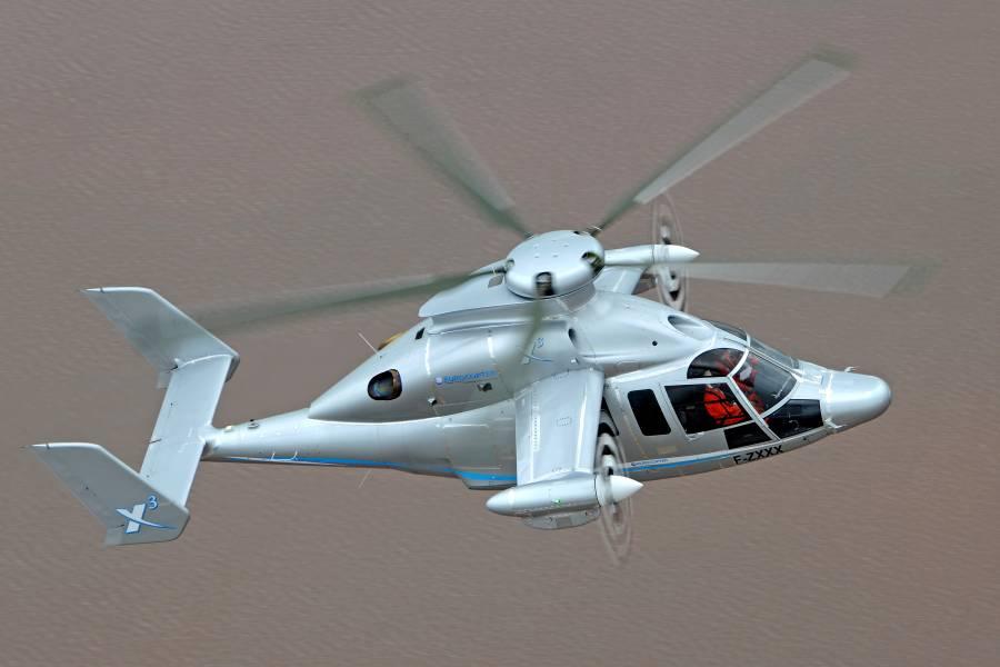 helikopter eurocopter x3 3
