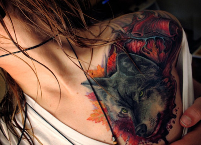 tatuaz-wilka