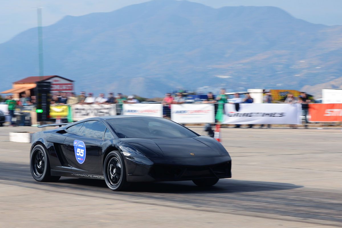 Lamborghini Gallardo Nera - rekord 1 mili
