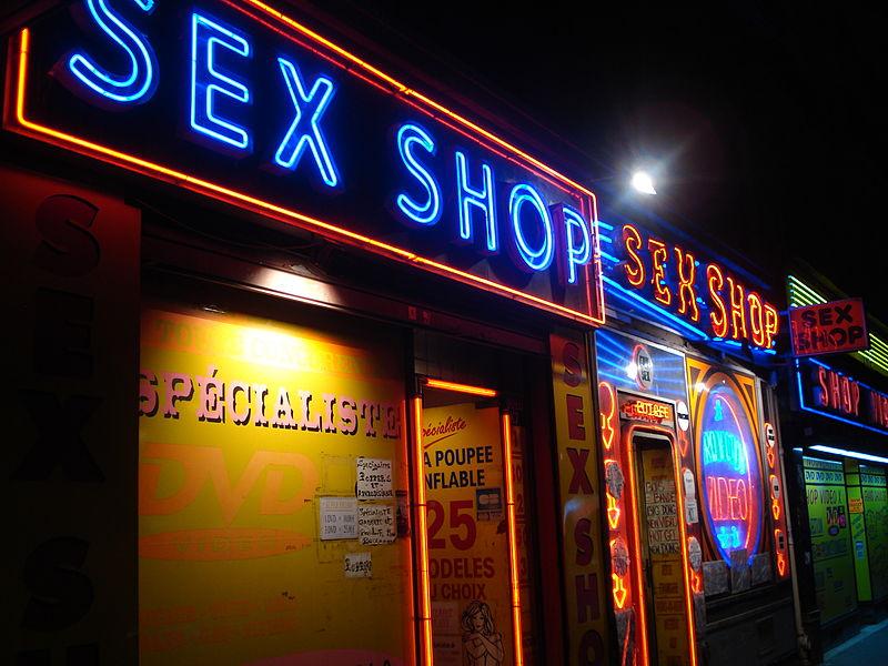 Prezent na walentynki w sex shop