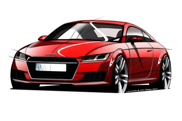 Audi TT trzeciej generacji przód
