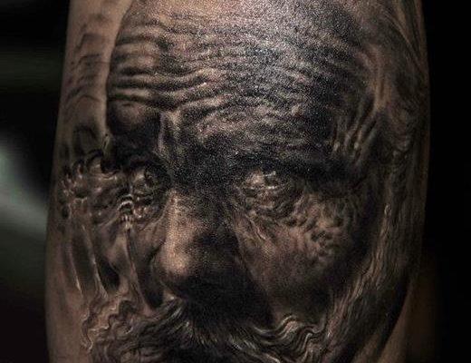 tatuaze twarze 1