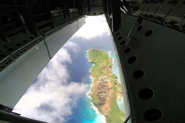 b-52 bombardowanie