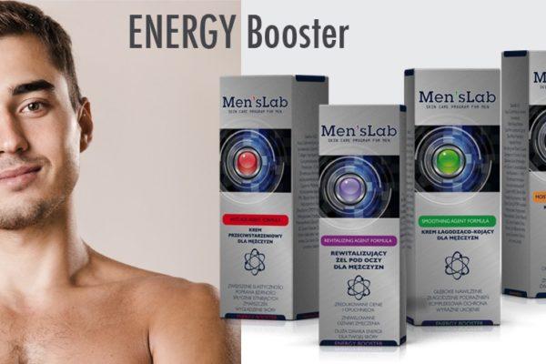 mens-lab energy booster kosmetyki dla mężczyzn