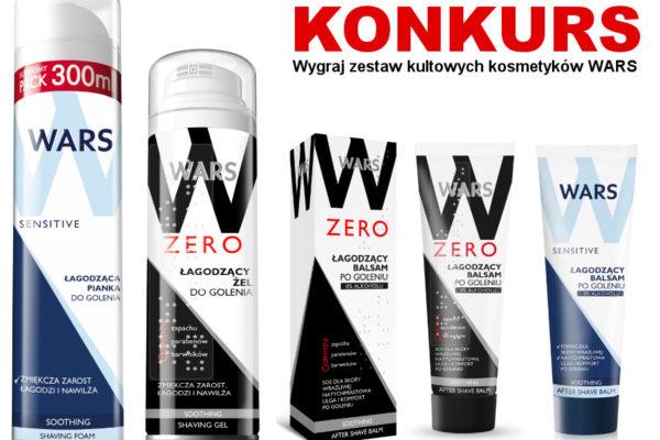 Konkurs wygraj kosmetyki dla mężczyzn WARS