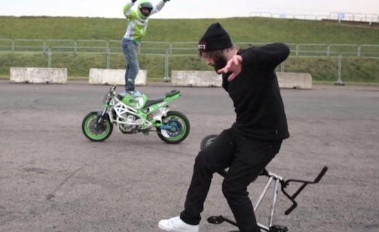 bmx moro stunt