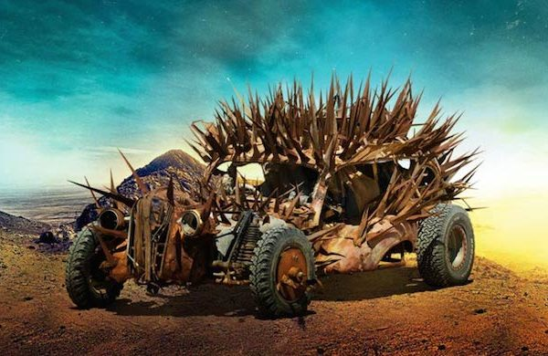 Mad Max Fury Road cars 0