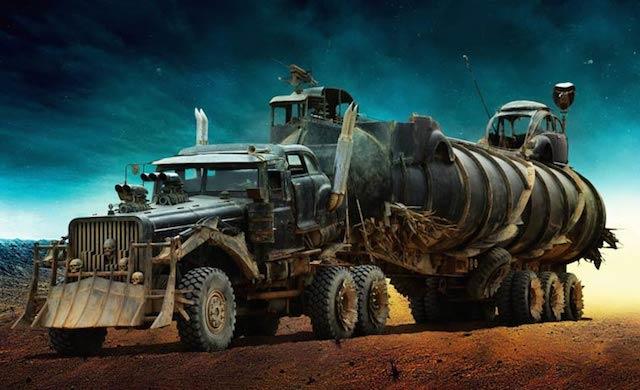 Mad Max Fury Road cars 0
