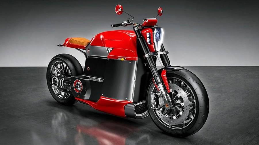 tesla model koncept motocykla