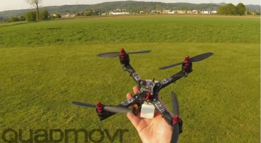 quadmovr najszybszy dron na swiecie