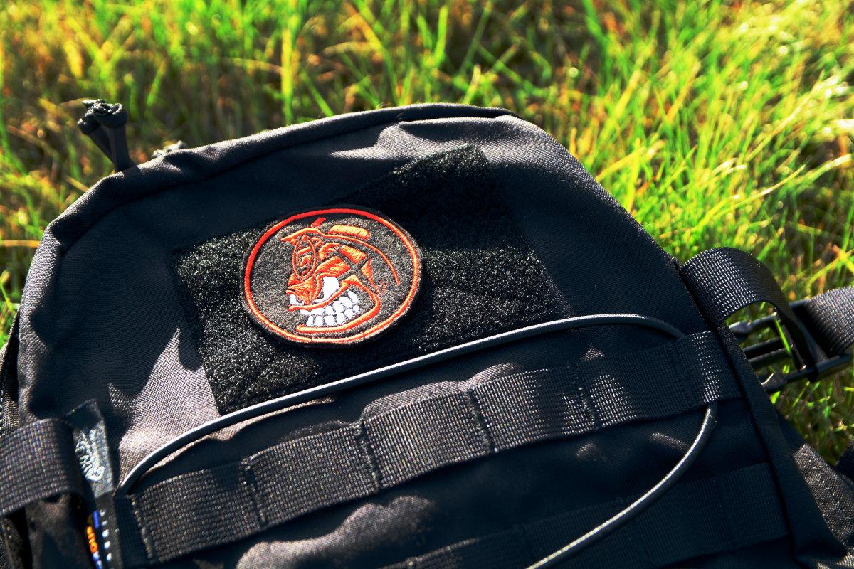 Narzepka i naszywka na plecak z graatem