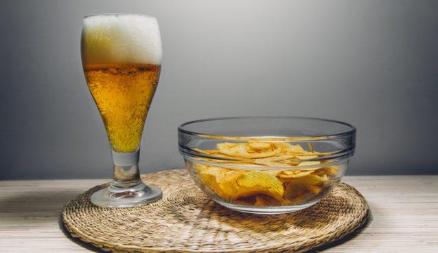 czipsy z piwem