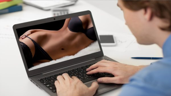 oglądanie porno