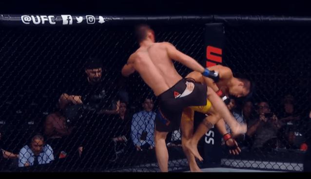 Najlepsze akcje MMA 2017