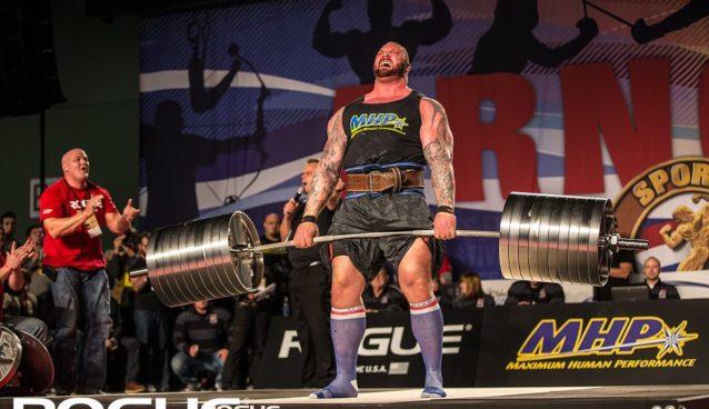 Hafthor Bjornsson martwy ciąg rekord